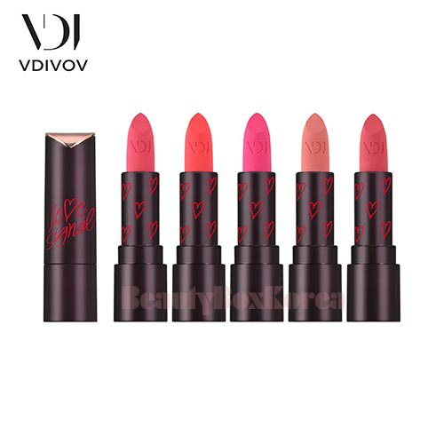 VDIVOV Lip Cut Rouge Velvet 3.8g [Love Signal Collection],VDIVOV